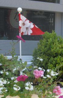 Tablecloth flag