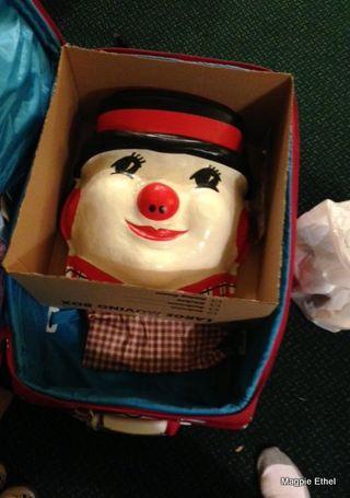 Snowman suitcase