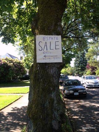 Estate sign
